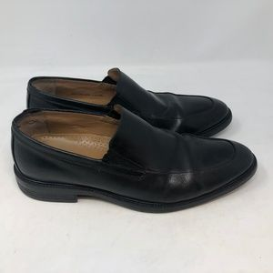 Cole Haan Grand OS Black Leather Slip On Loafers